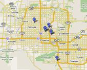 Clickable Properties Map